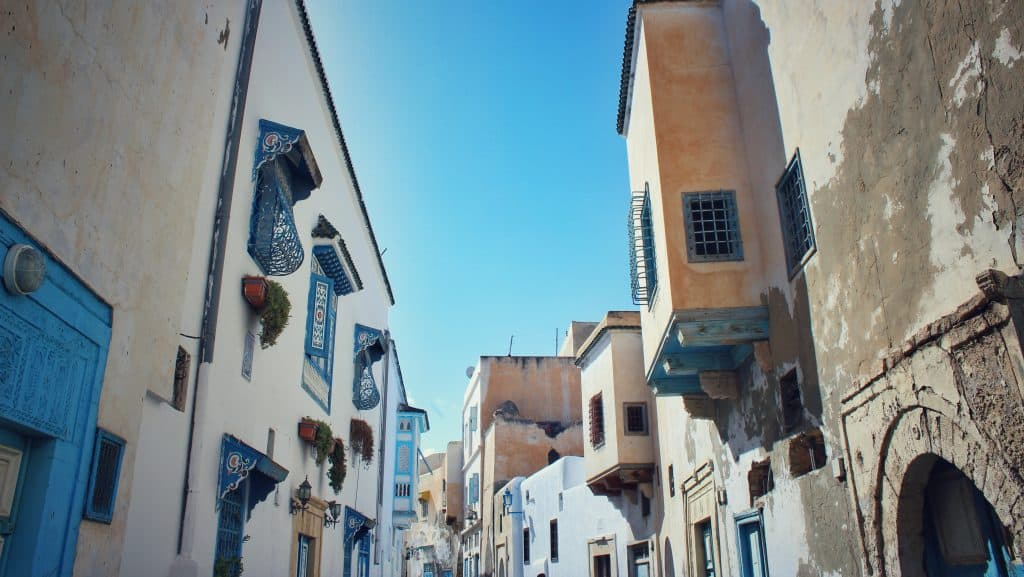 v Tunisku můžete koukat i na rozdílné budovy